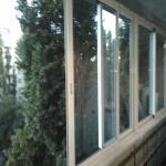 Остекление, утепление, отделка балконов и лоджий портфолио.